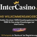 Intercasino Bonus 10 Freispiele