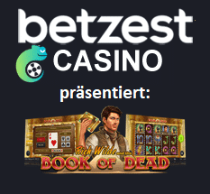 Book of Dead im Betzest Casino