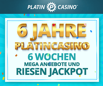 Platincasino Bonus 60000 euro