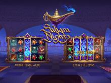 Sahara Nights von Yggdrasil gratis Slot im Platin Casino