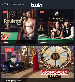 Twin Casino Live Casino
