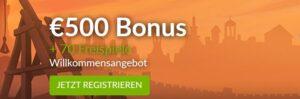 Omni SLots Casino Bonus plus Freispiele