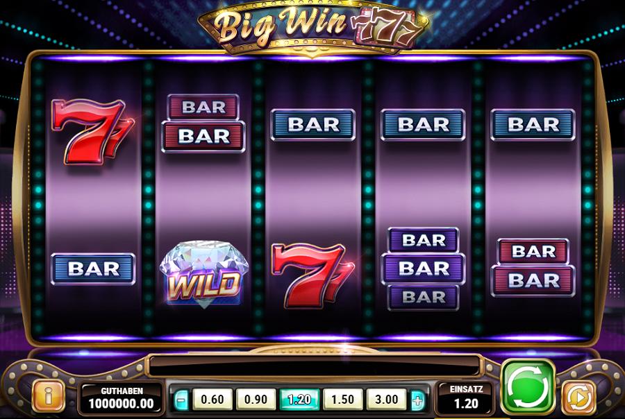 Big Win 777 Play'n Go kostenlos spielen