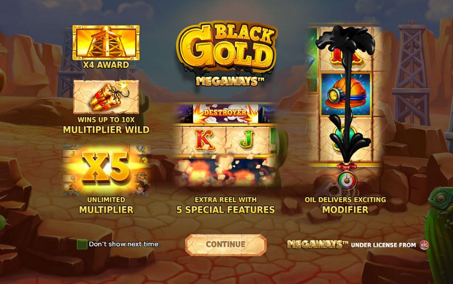 Black Gold Megaways kostenlos spielen