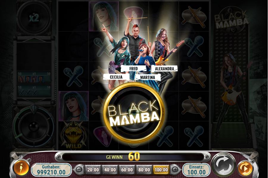 Black Mamba Play n Go kostenlos spielen