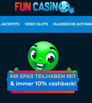 Fun Casino Cashback