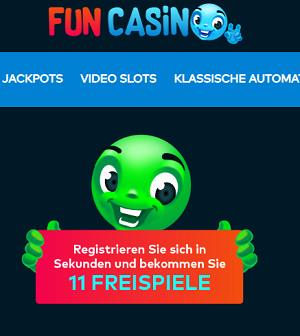 Fun Casino Freispiele ohne Einzahlung