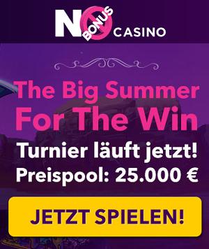 No Bonus Casino Turniere