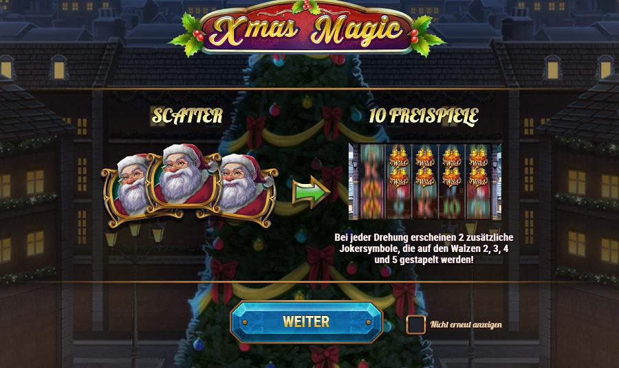 Xmas Magic PlaynGo kostenlos spielen