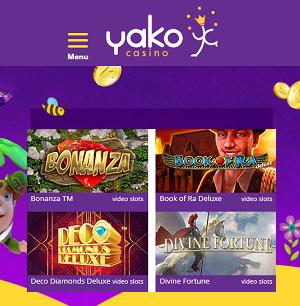 Yako Casino Spielautomaten