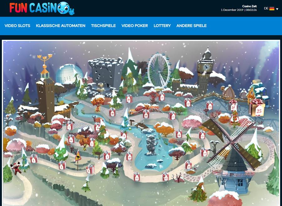 Fun Casino Weihnachtskalender