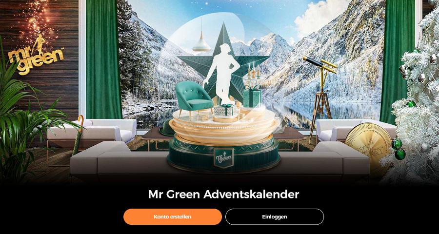 Mr Green Weihnachtskalender