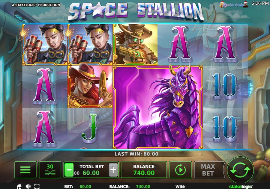 Space Stallion Stakelogic kostenlos Slot