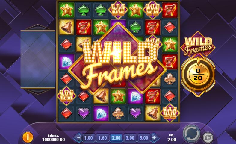 Wild Frames Play n Go gratis spielen