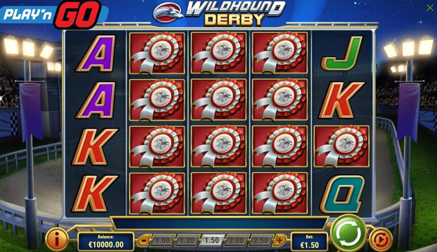 Wildhound Derby Play'n Go kostenlos spielen