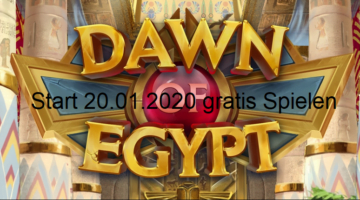 Dawn of Egypt Play n Go kostenlos