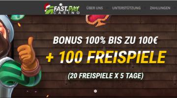 Fastpay Casino Erfahrung – lukrativer Bonus zum Start