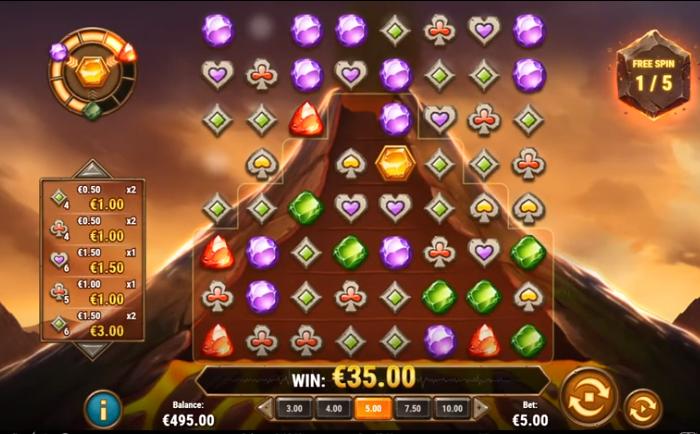Gold Volcano Play n Go