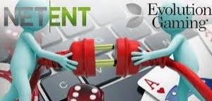 NetEnt und Evolution Gaming