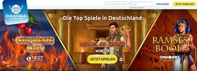 DrückGlück Top Spiele