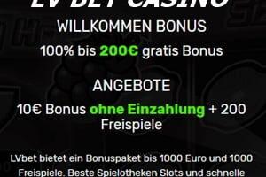 LV BET – ein Urgestein in der Casino Branche ohne Einzahlung