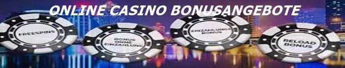 Online Casino Bonusangebote