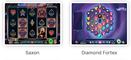 Play'n Go im August Neue Spiele - Saxon, Diamond Fortex