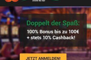 CasinoCasino mit 10% Cashback auf alle Verluste