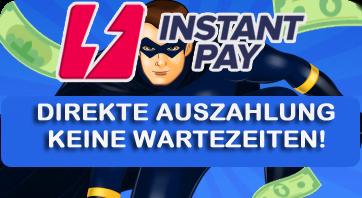 Instant Casino Auszahlungen