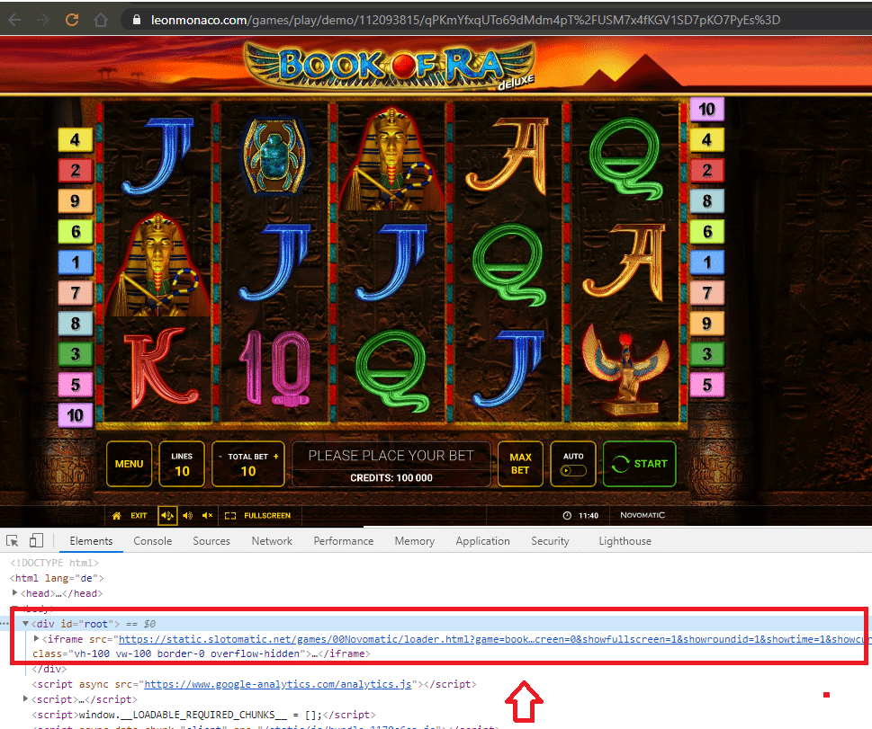 Slotomatic Server Fake Spiele Leo Monaco Casino
