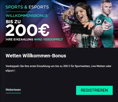 Cbet Sportwetten Bonus