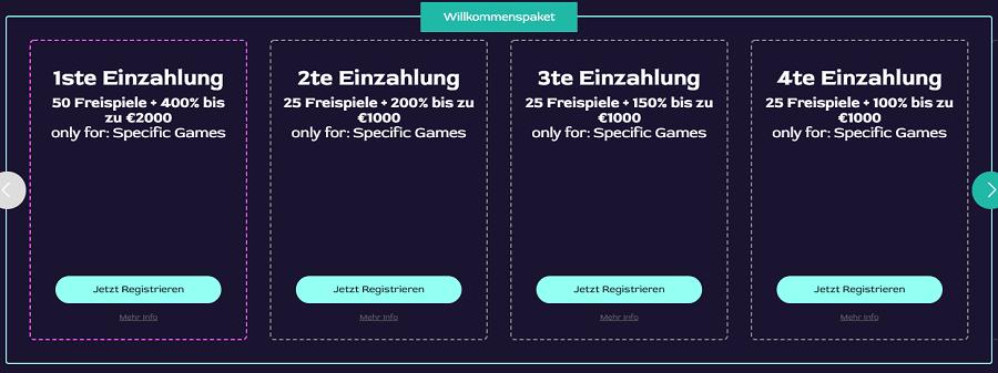 Ocean Breeze Casino Willkommensbonus