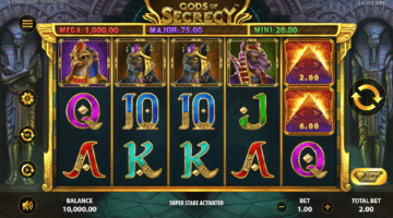 Gods of Secrecy Stakelogic Spiel gratis