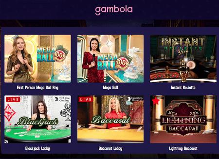 Gambola Live Casino