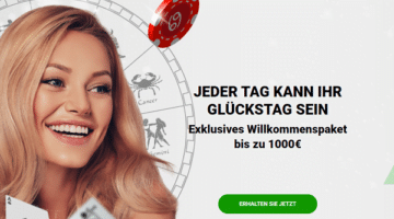 Zodiac Casino 1000 Euro Bonus