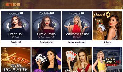 Betsedge Live Casino