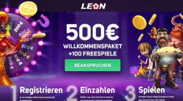 Leon.bet Willkommensbonus