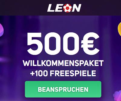 LeonBet Bonus