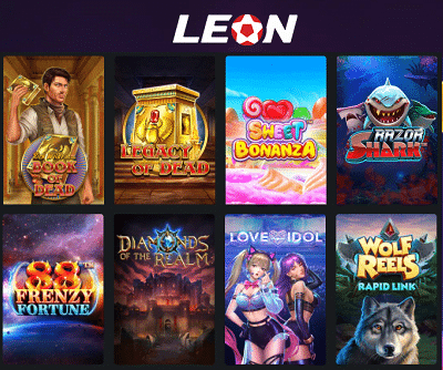 LeonBet Spielautomaten