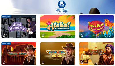 Mr Sloty Spielautomaten