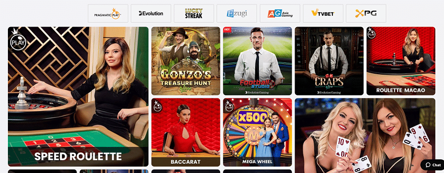 ZodiacBet Live Casino Dealer