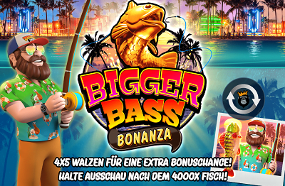 Bigger Bass Bonanza Pragmatic Play Freispiele