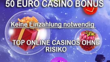 50 Euro ohne Einzahlung