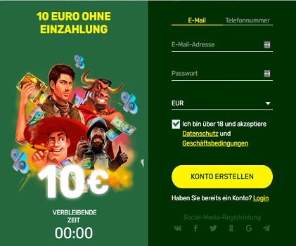 Luckybirdcasino 10 Euro ohne Einzahlung
