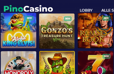 Pino Casino Spielautomaten