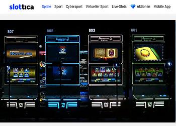 Slottica Live Slots