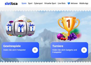 Slottica Turniere Freispiele